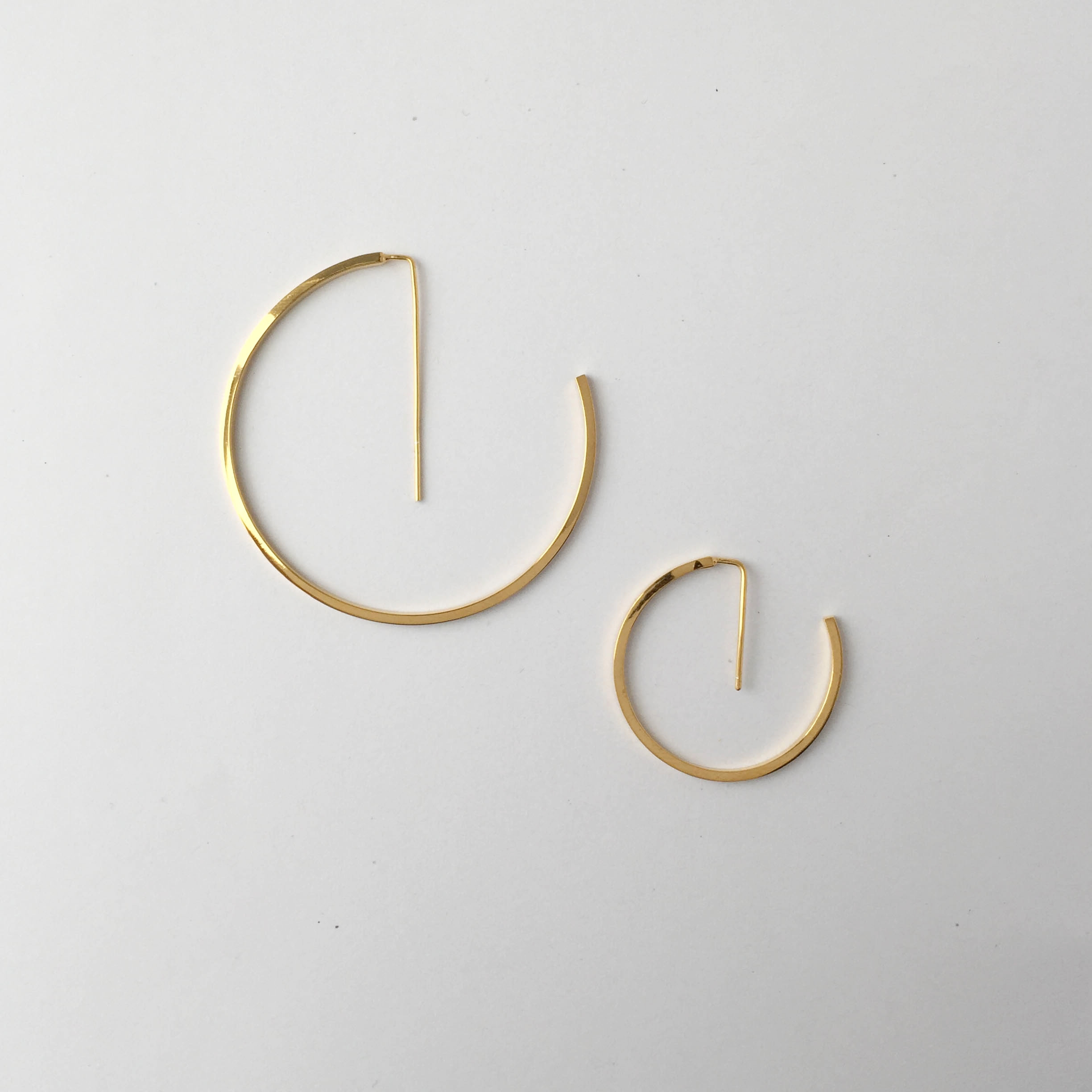 Jake McCombe Jewellery - Small G Earrings