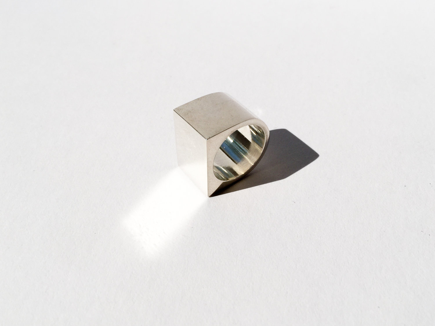 Jake McCombe Jewellery - Square Signet Ring