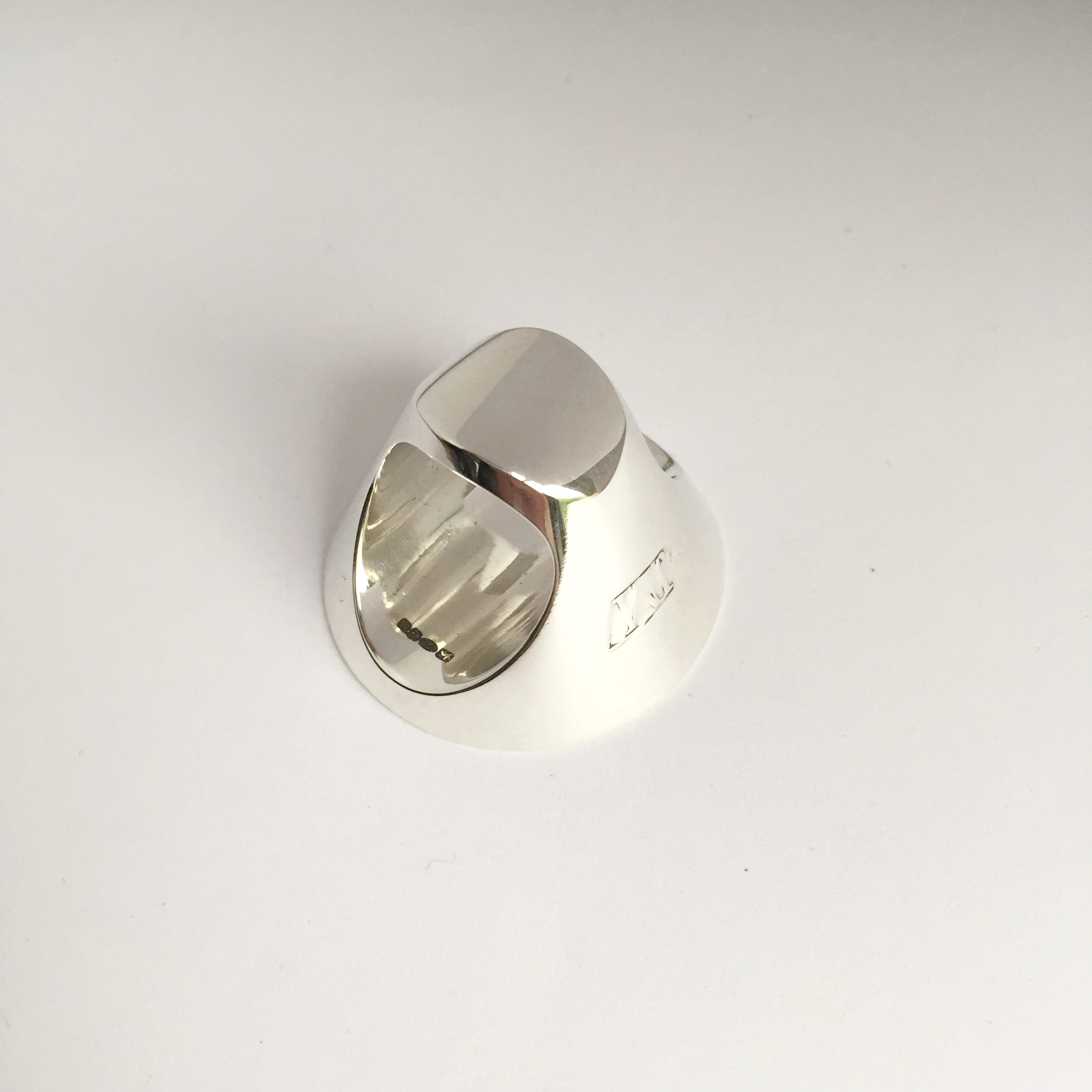 Jake McCombe Jewellery - Disc Signet Ring