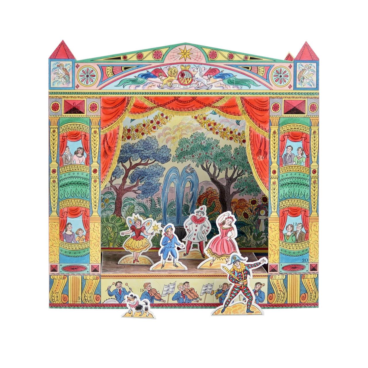 Emily Sutton - Pantomime Advent Calendar