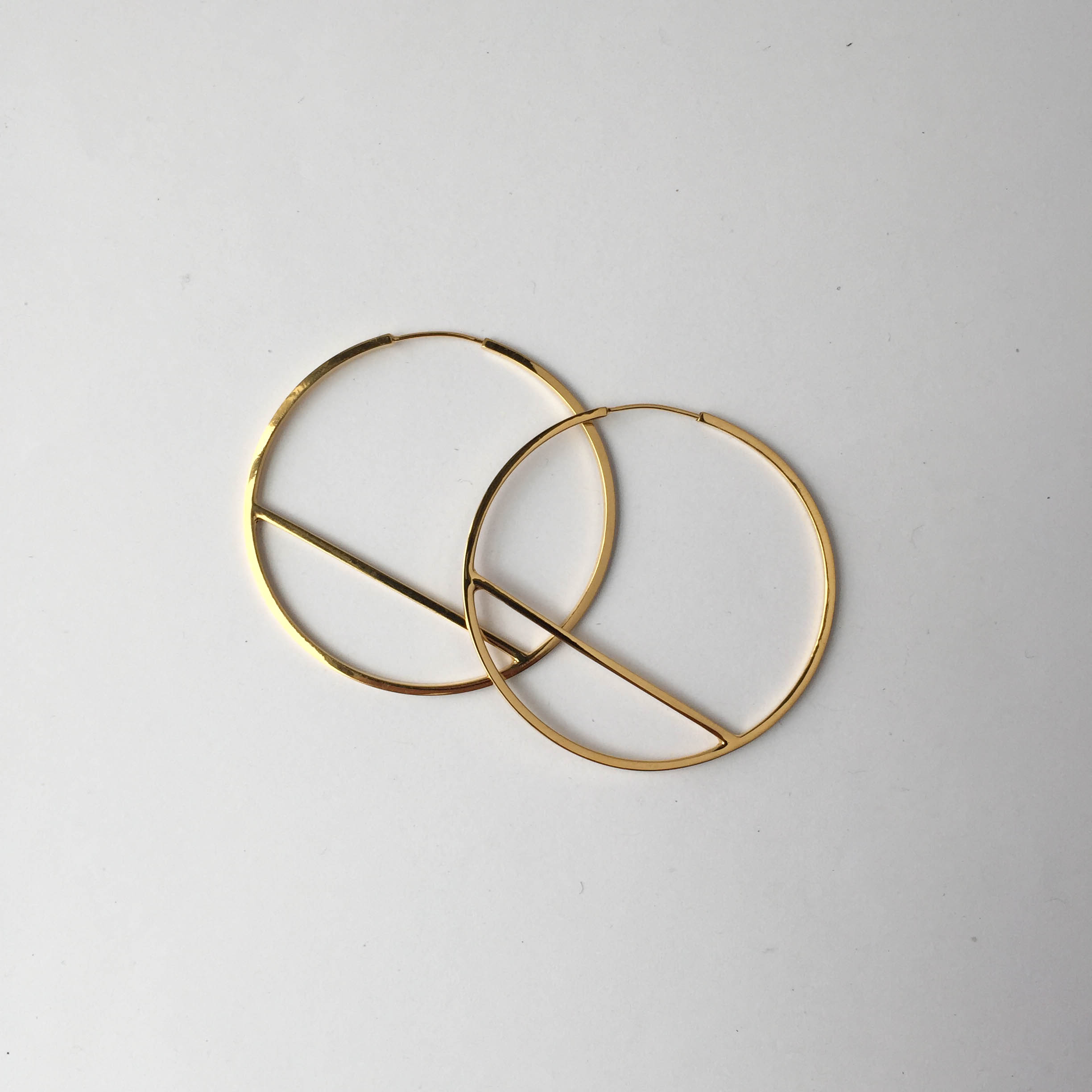 Jake McCombe Jewellery - Regular Circle Earrings