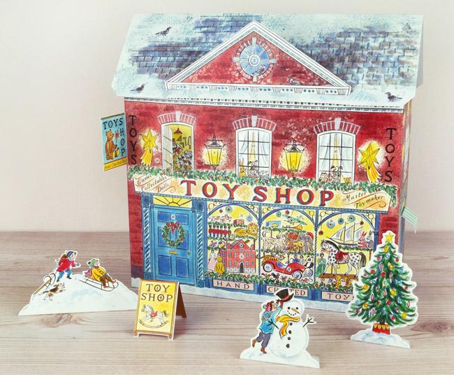 Emily Sutton - Toy Shop Advent Calendar