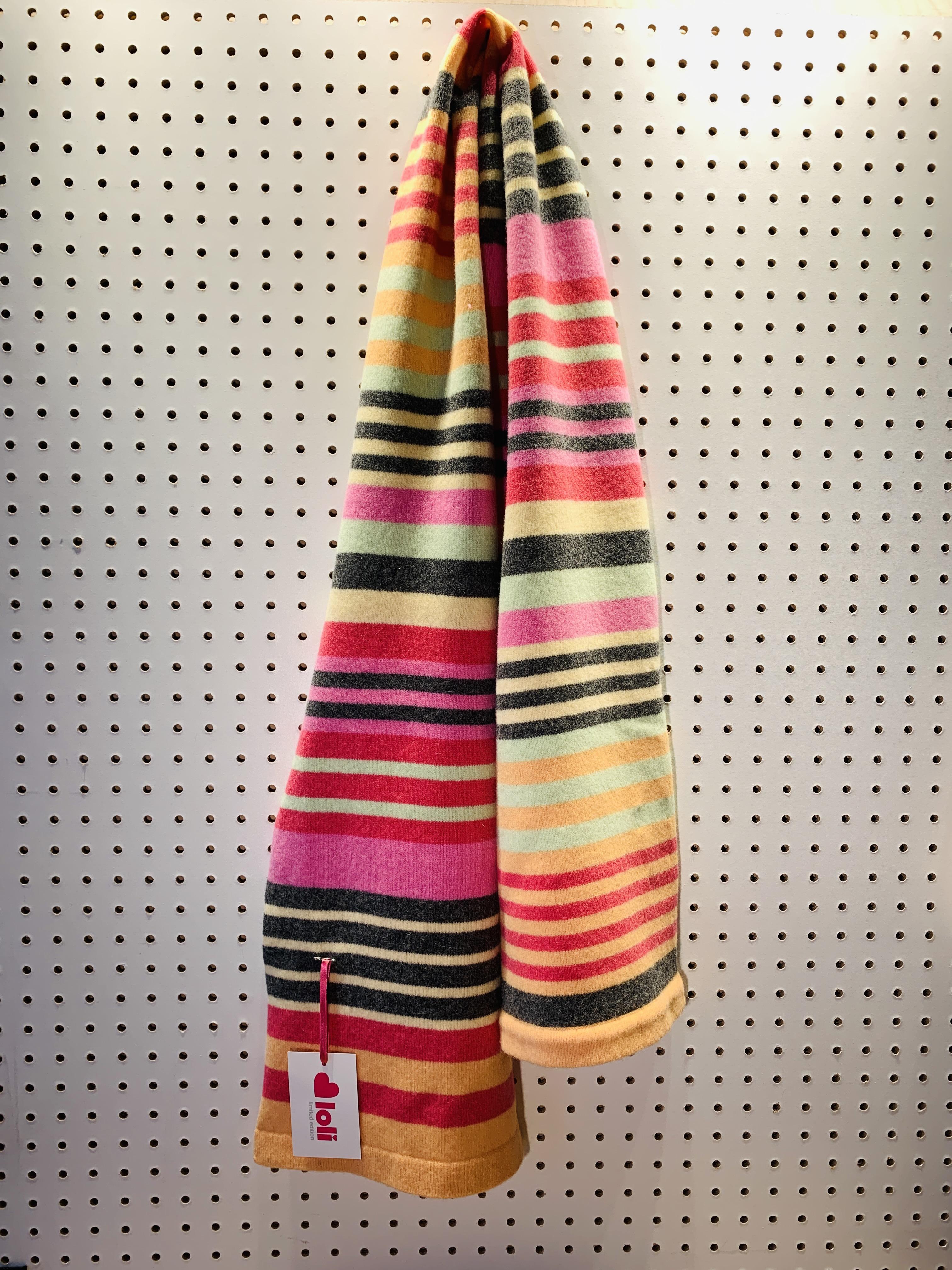 Loli Knit - Monochrome Scarf