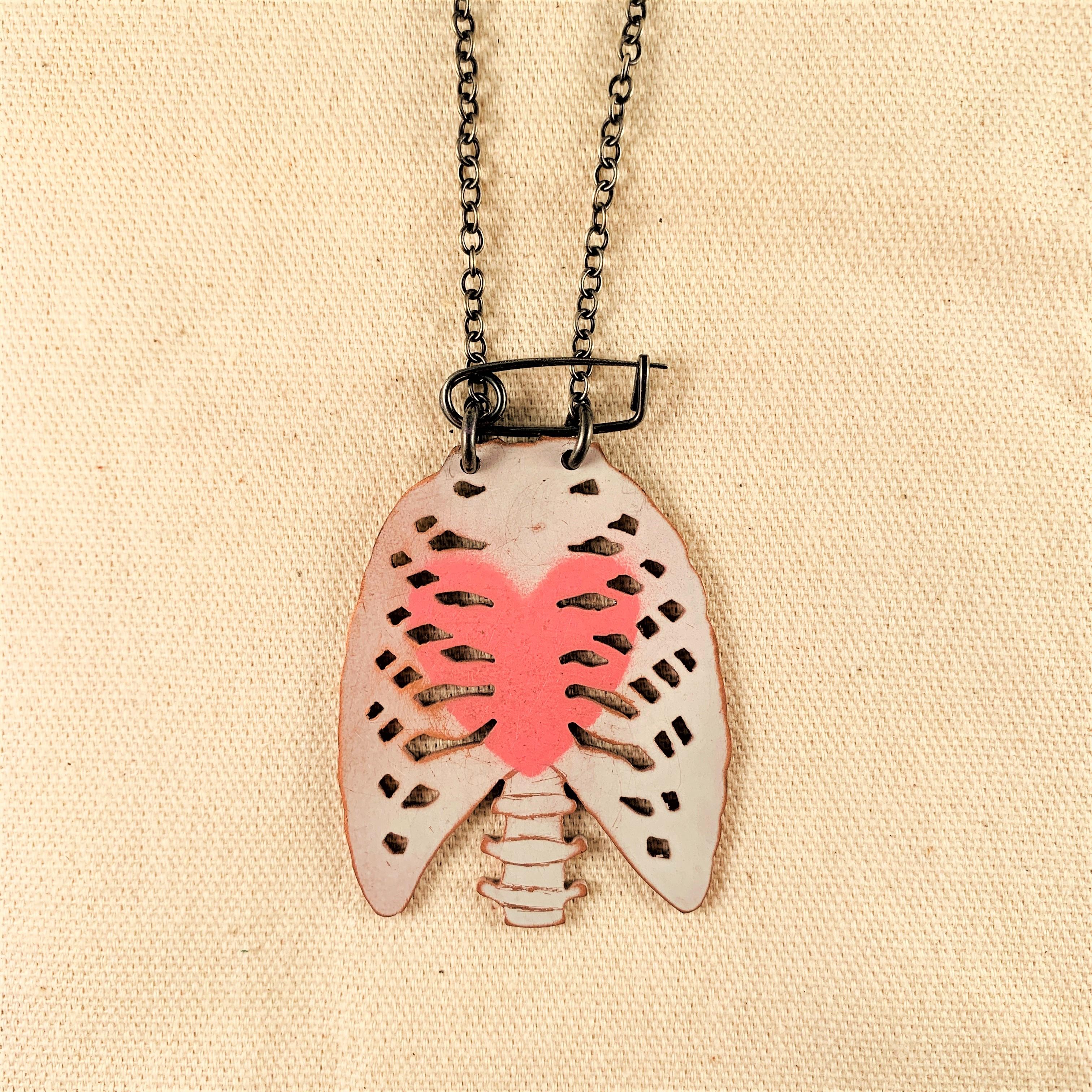 Anna Watson - Small Ribcage Necklace