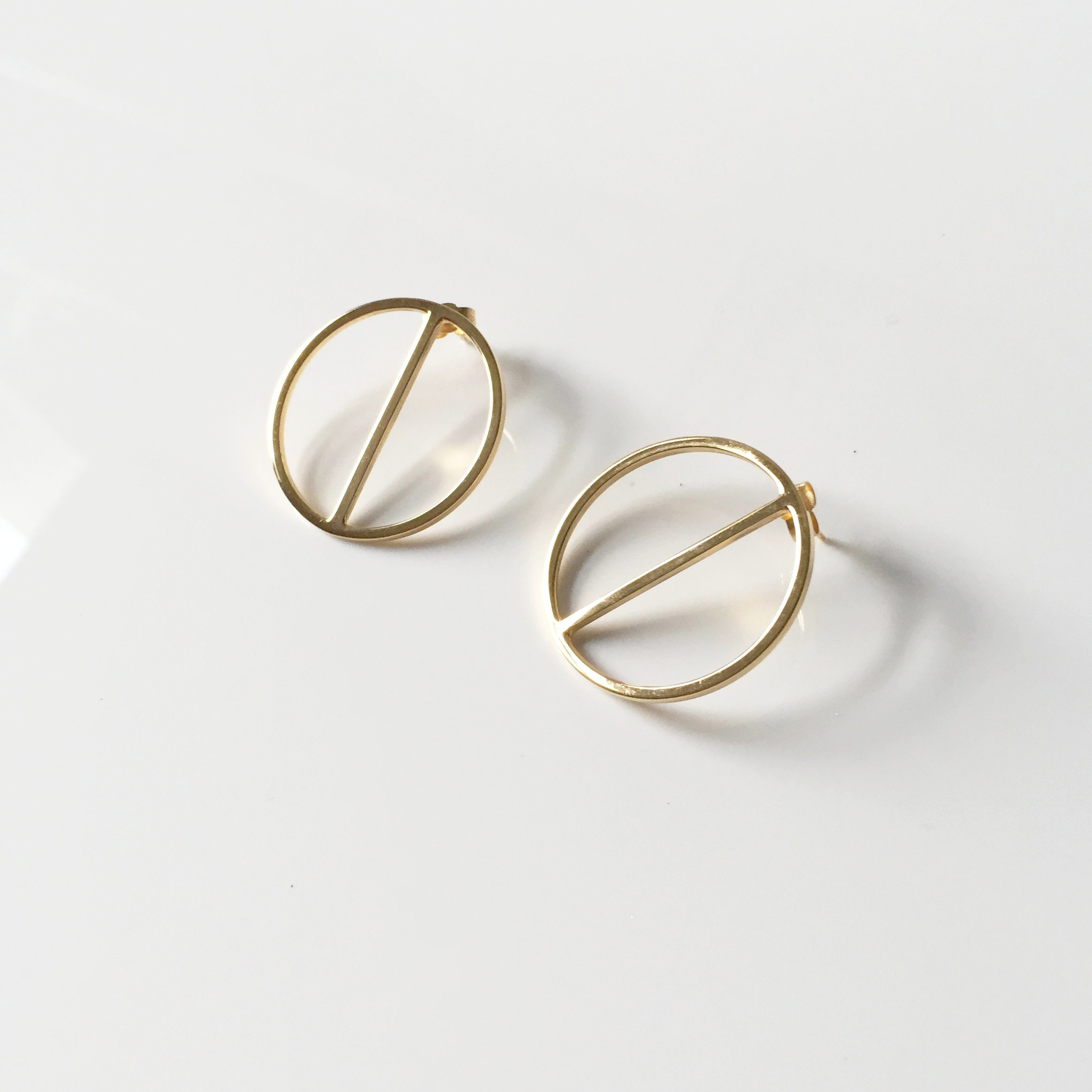 Jake McCombe Jewellery - Divide Earrings