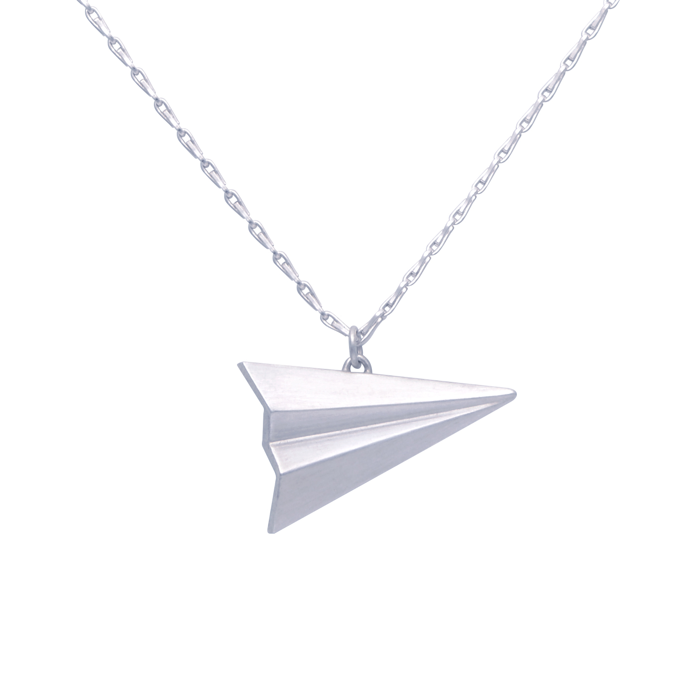 Alice Barnes Jewellery - Long Paper Plane Necklace