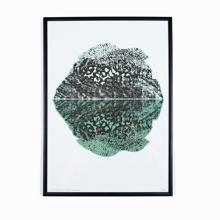 Wald - A3 Riso Print