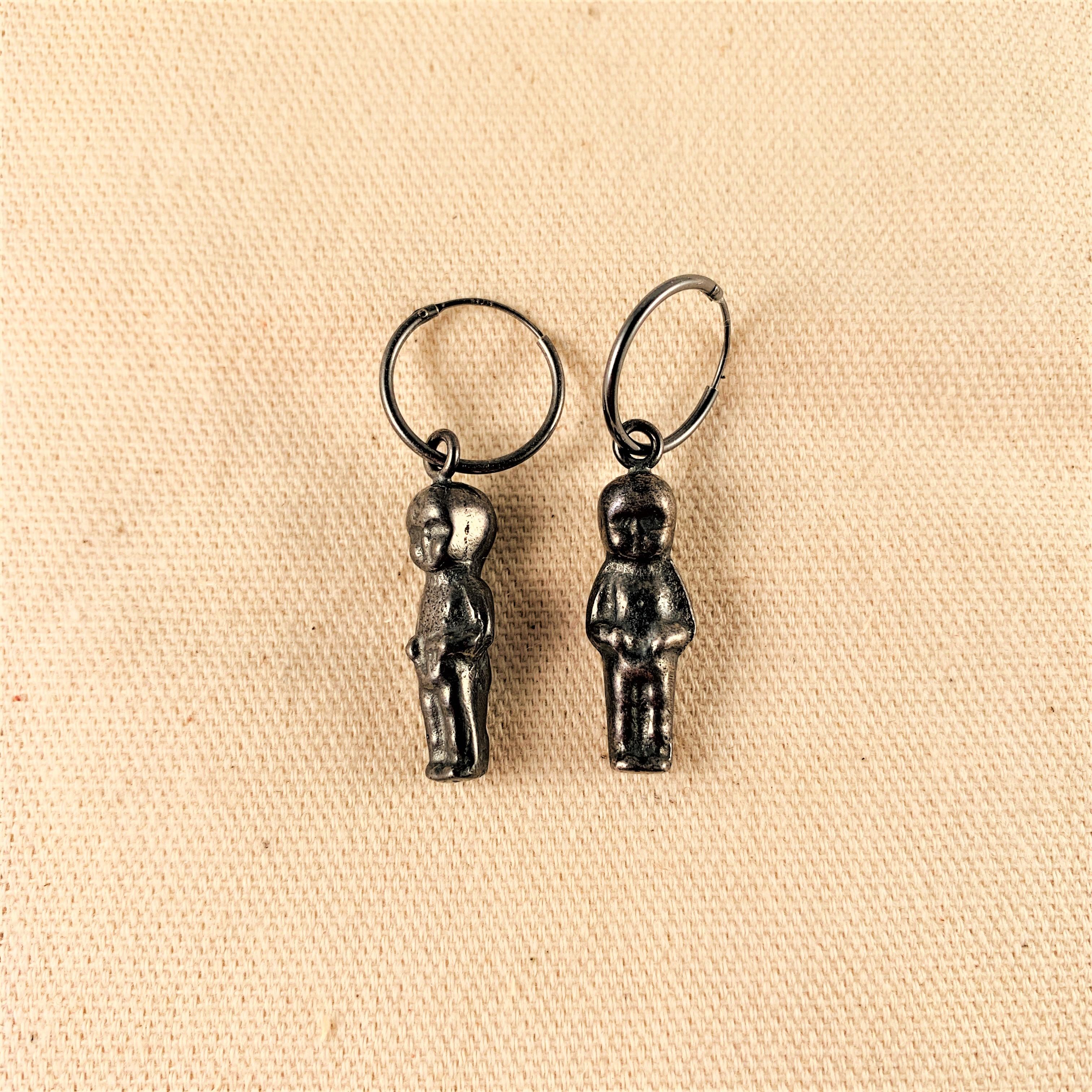Anna Watson - Nativity Jesus Earrings