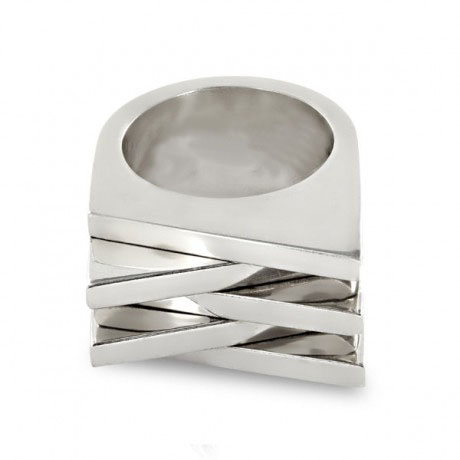 Jake McCombe Jewellery - 5.1 Ring (Silver stack)
