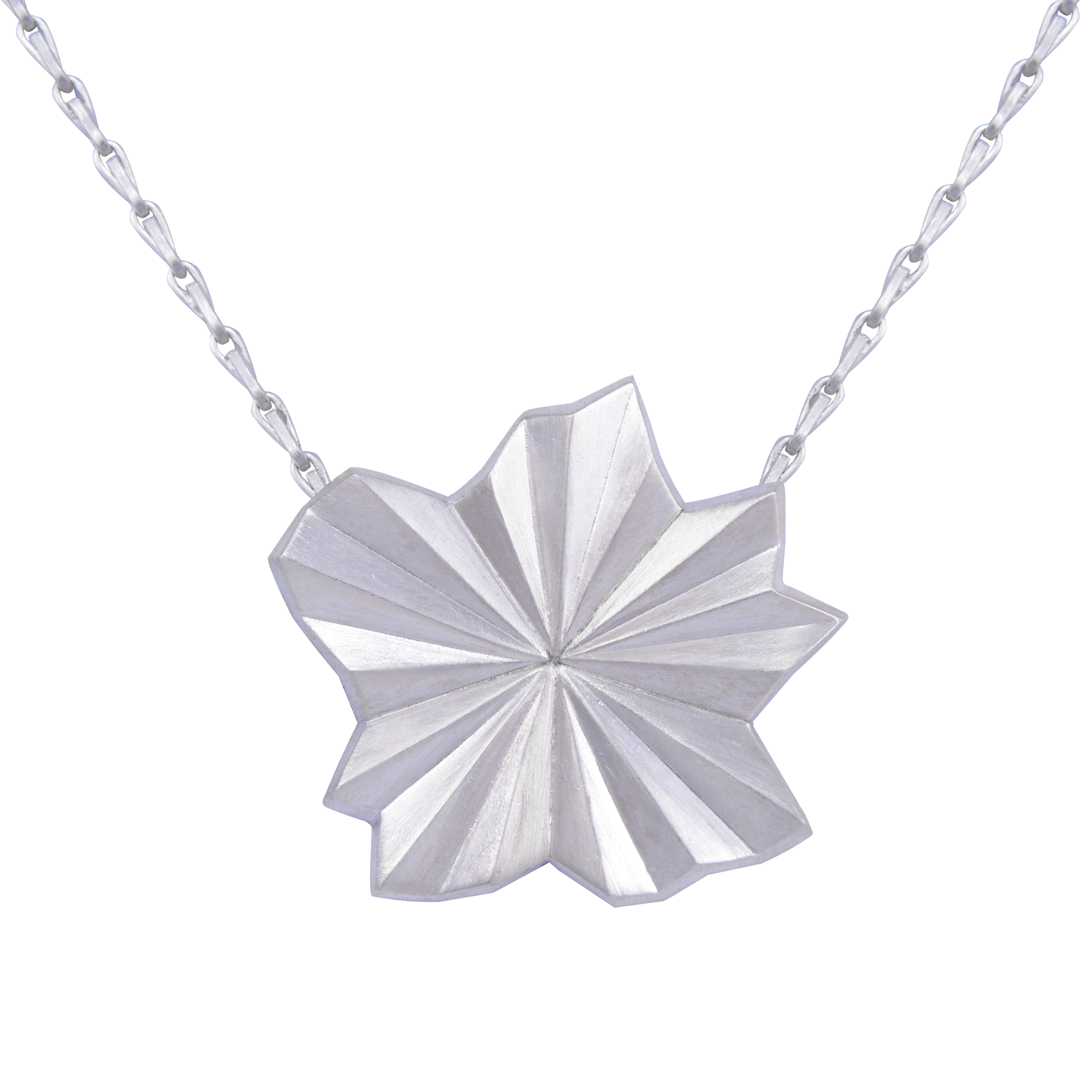 Alice Barnes Jewellery - Pleated Star Necklace