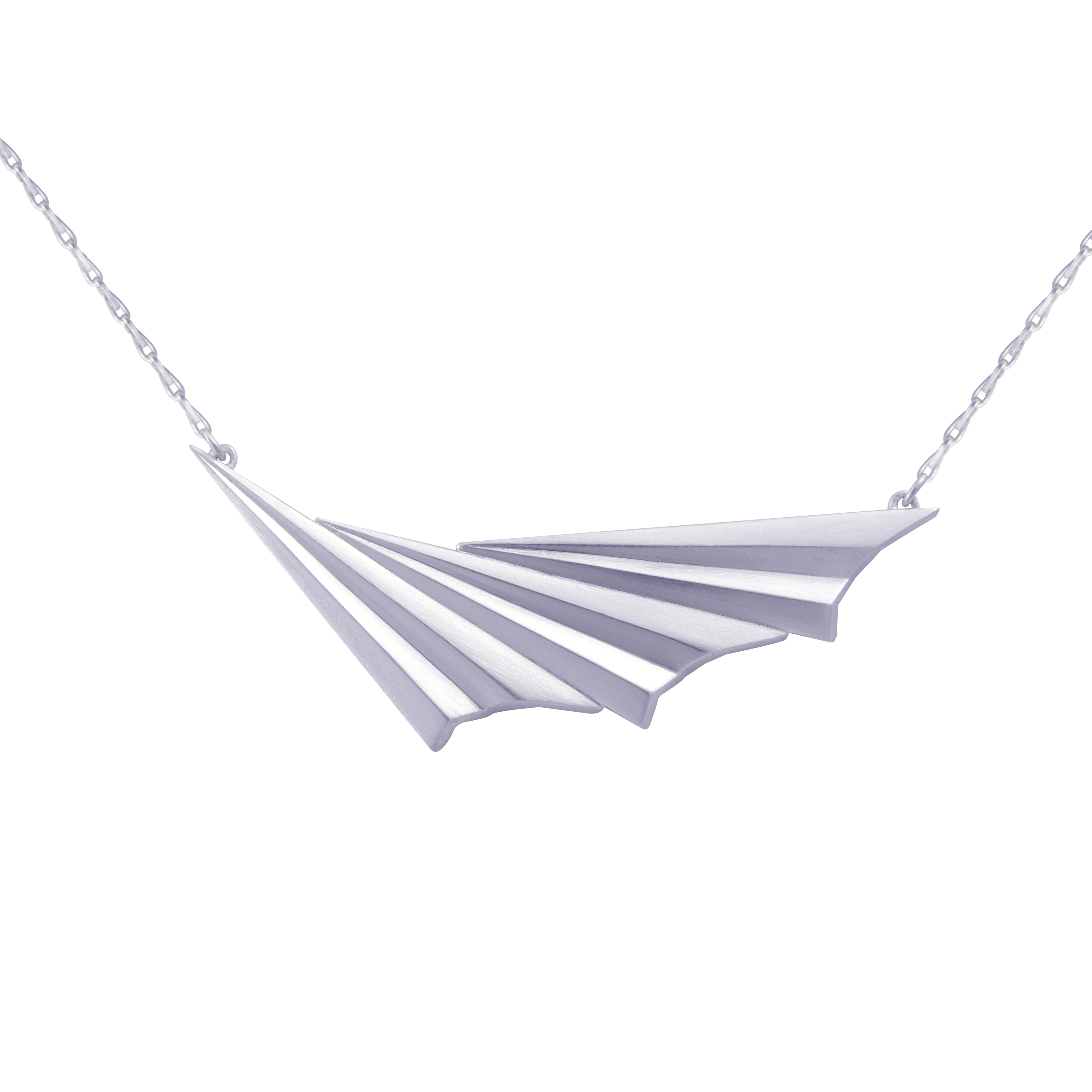 Alice Barnes Jewellery - Pleated Wave Necklace
