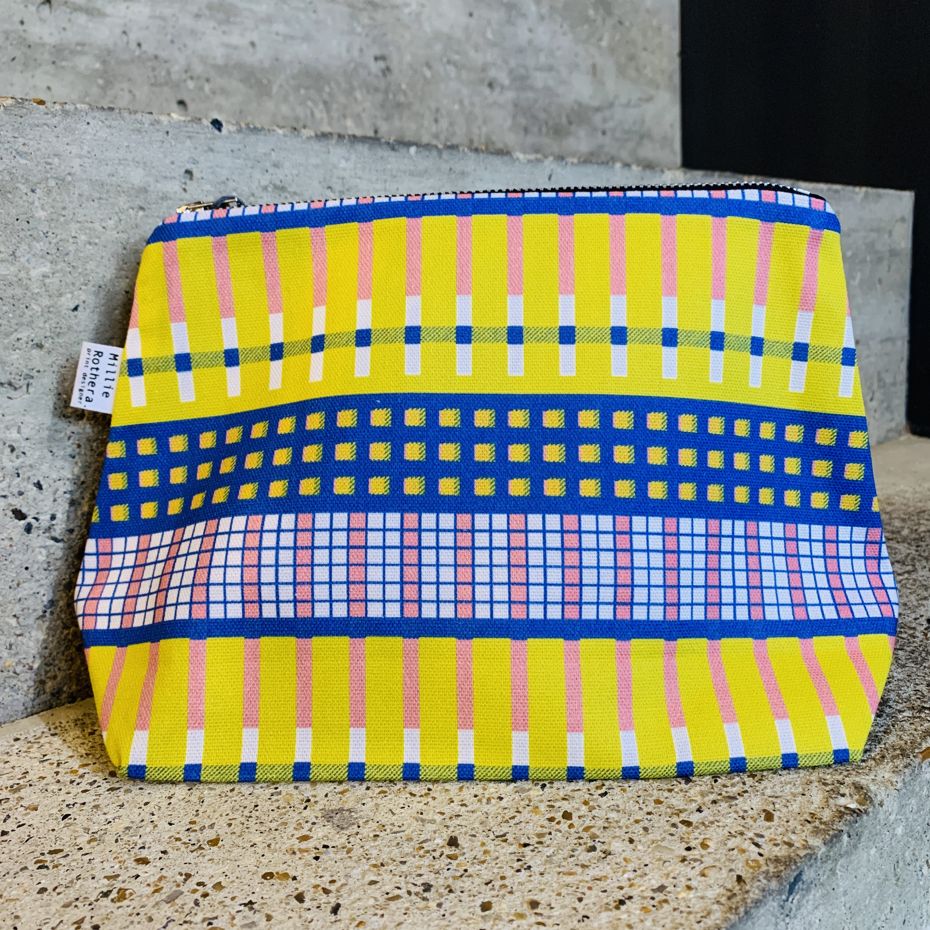 Millie Rothera Designs - Flat Base Pouch Bag