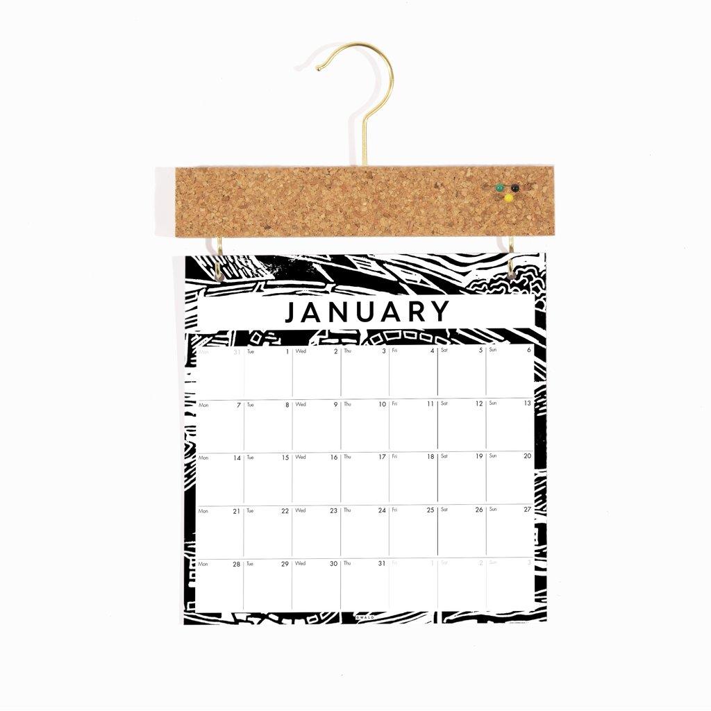 Wald - 2021 Pinboard Calendar