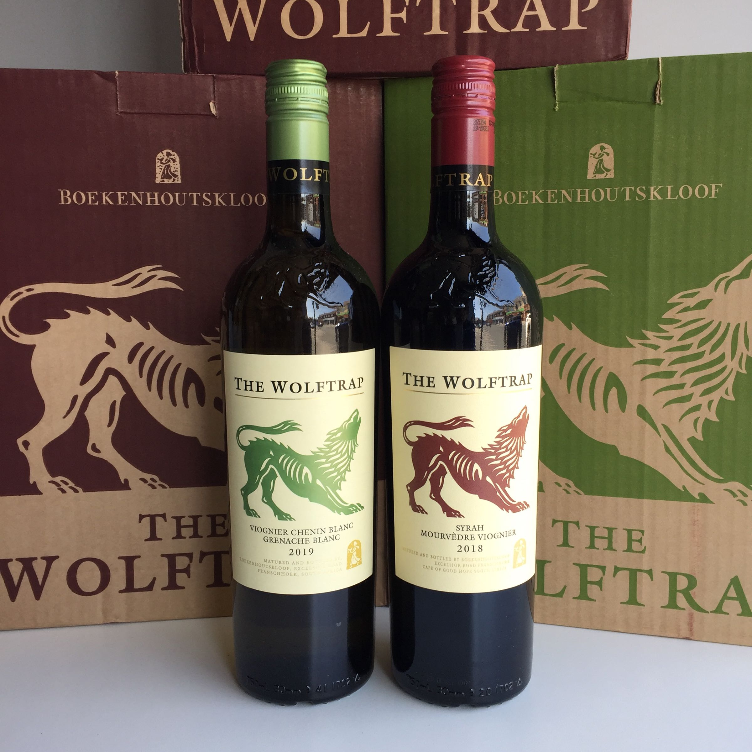 Boekenhoutskloof - The Wolf Trap mixed case deal