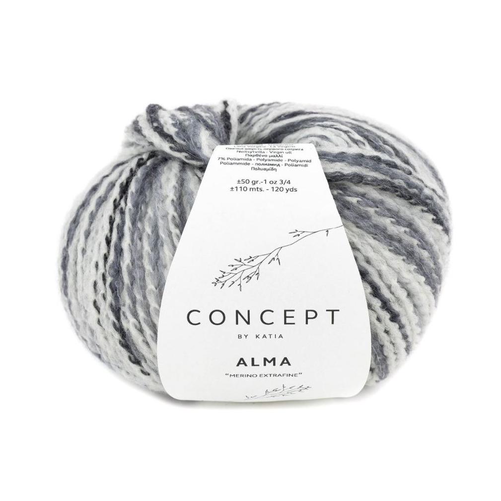 Alma 300 lys grå toner