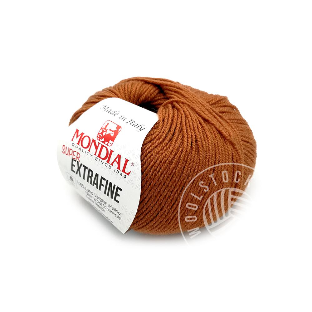 Extrafine Merino 362 cognac