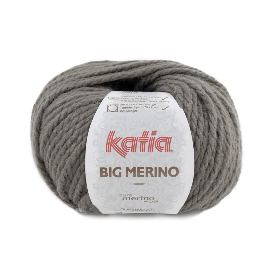 Big Merino 50 musegrå