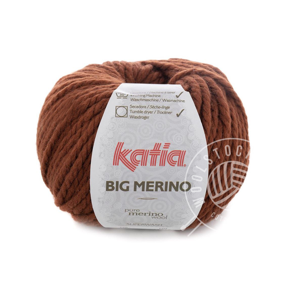 Big Merino 49 terracotta