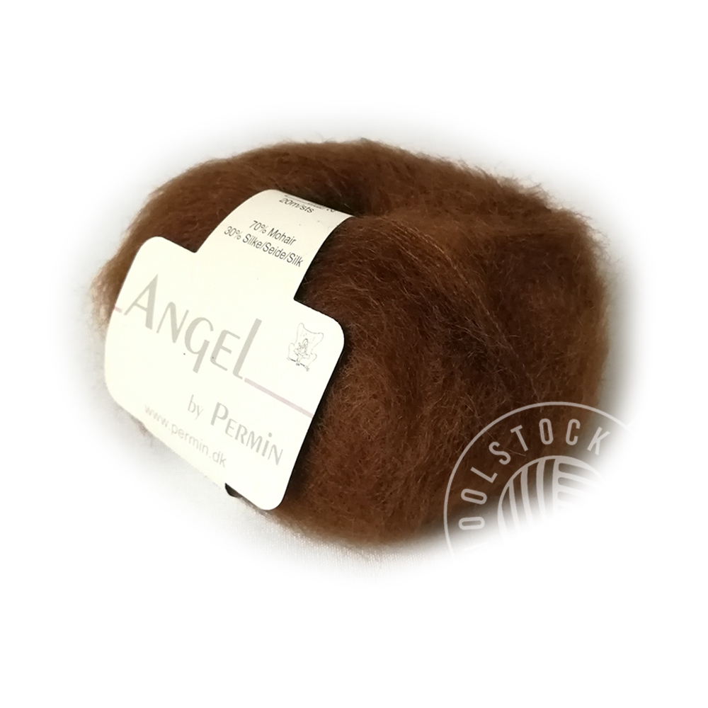Angel mohair 73 brun
