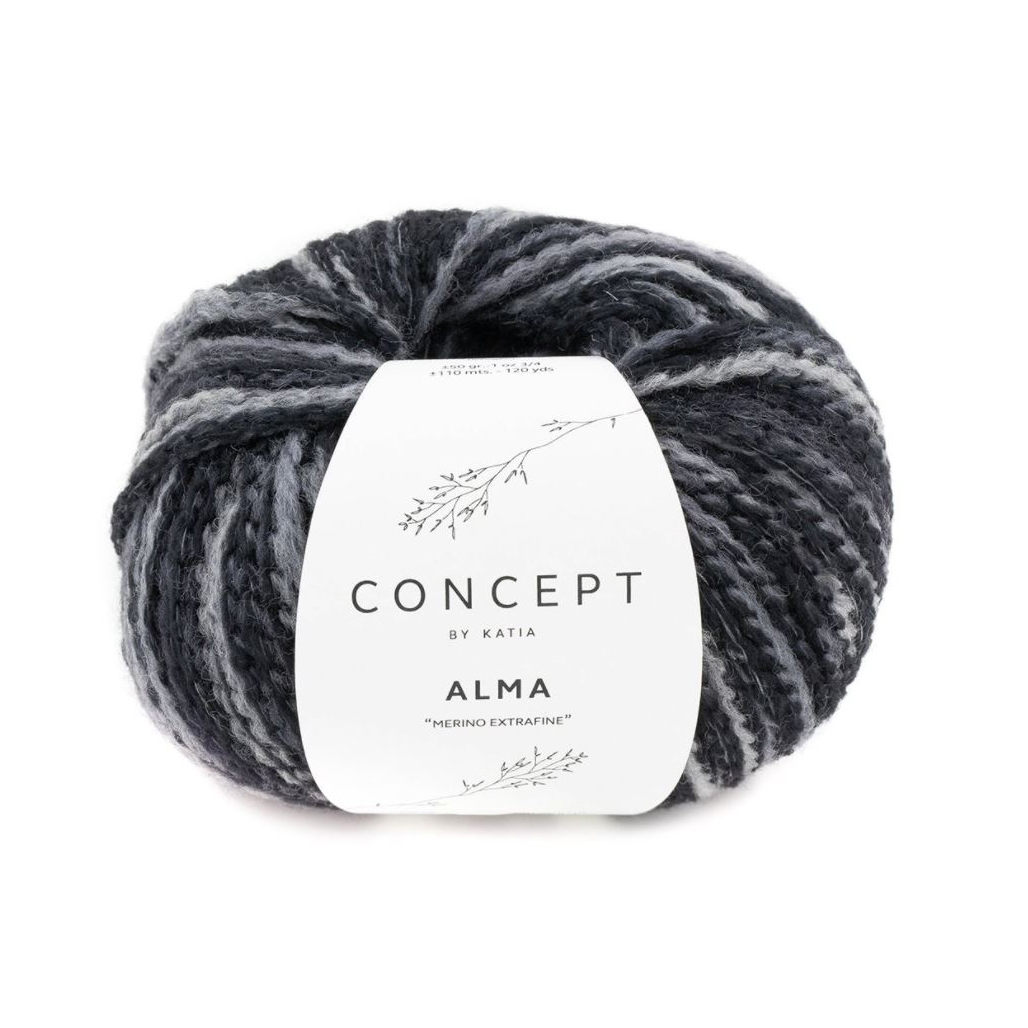 Alma 308 mørk grå toner