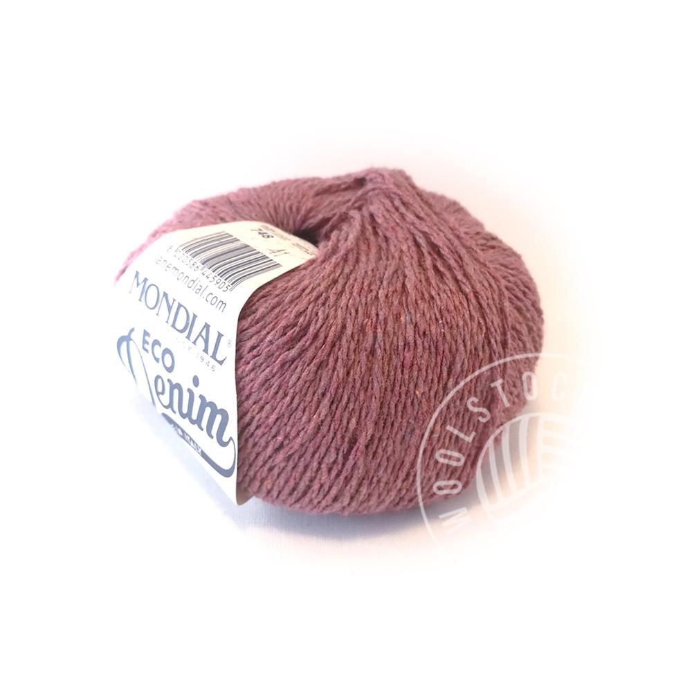 Eco Denim 748 dusty pink tweed