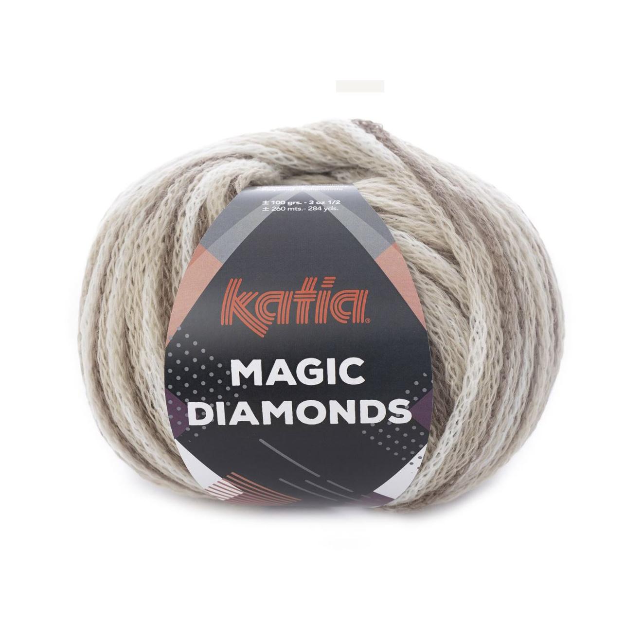 Magic Diamonds 50 brun/beige/creme