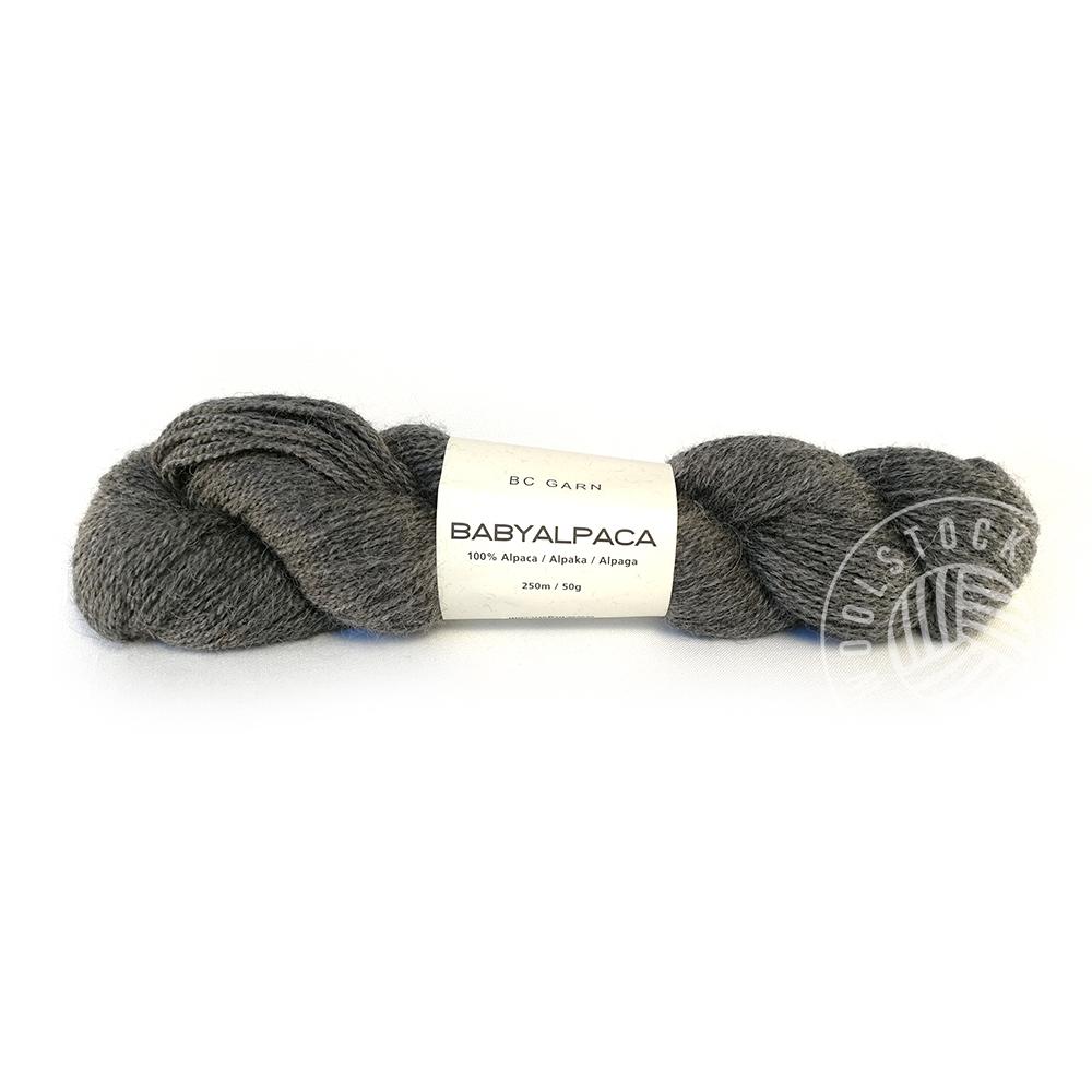 BC Baby Alpaca 103 no dye grey