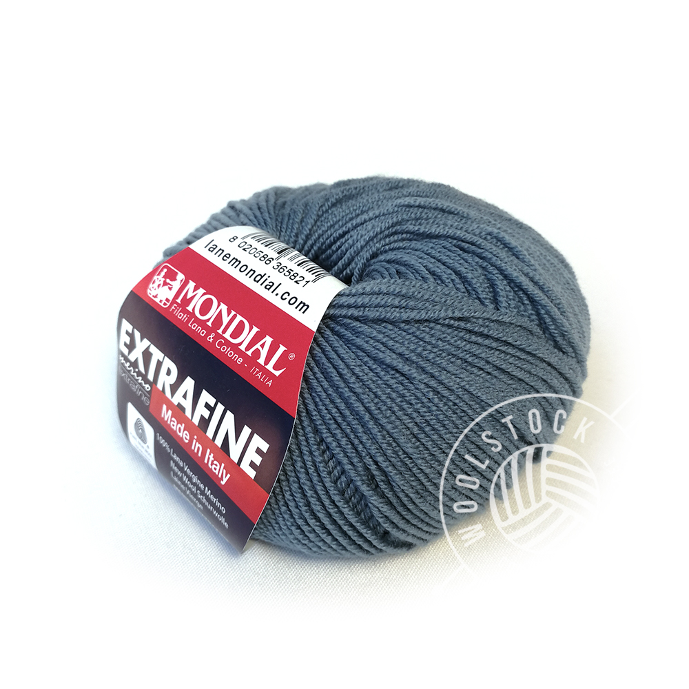 Extrafine Merino 147 denim