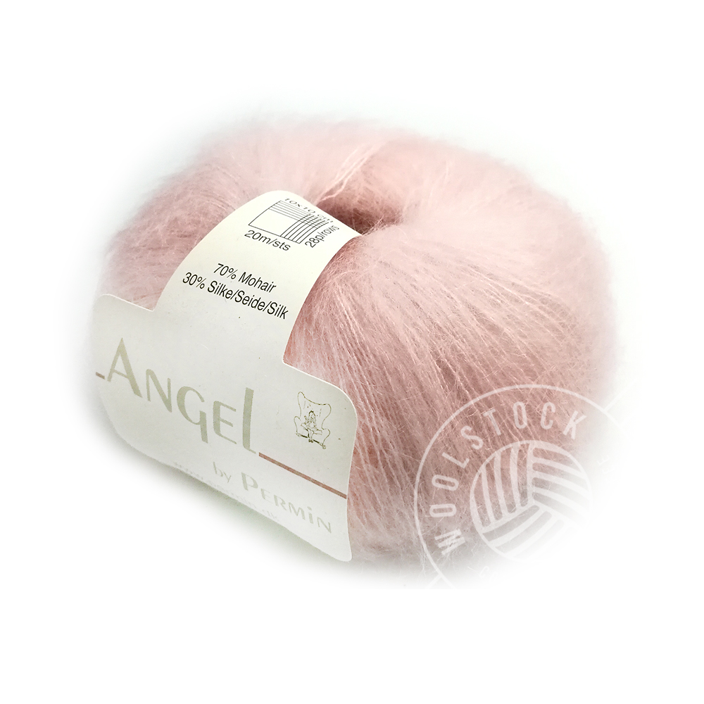 Angel Mohair 55 baby pink