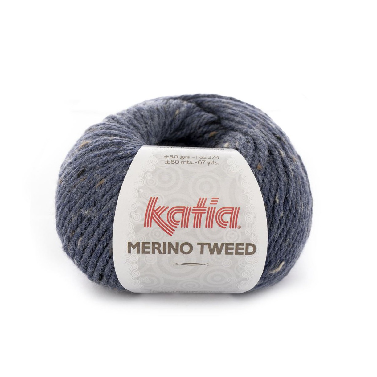 Merino Tweed 305 denim