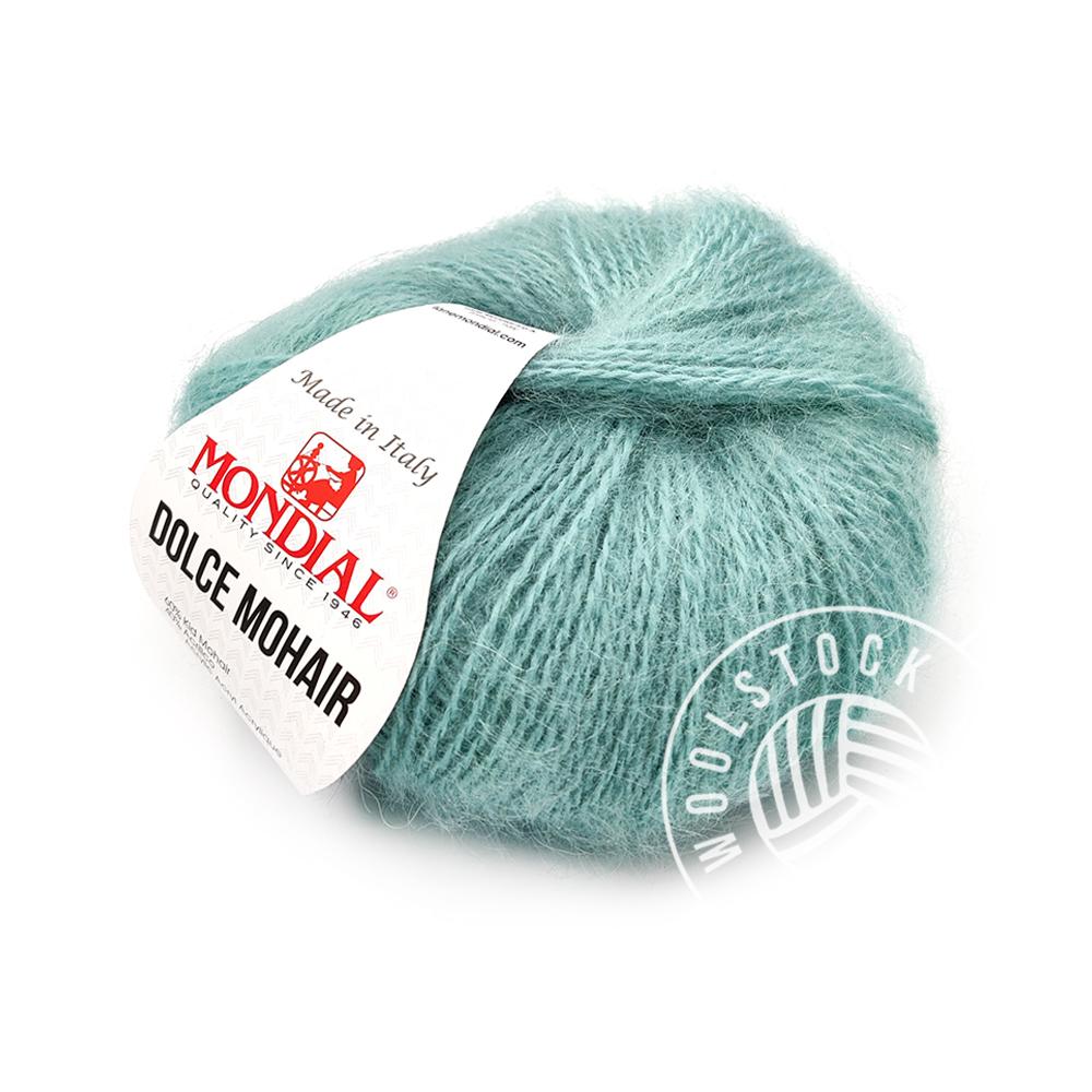 Dolce Mohair 186 blågrøn