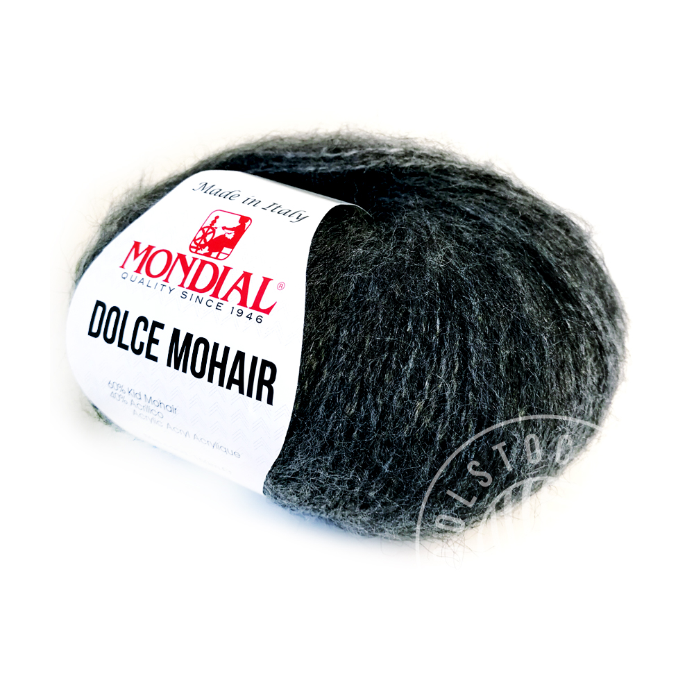Dolce Mohair 702 dark grey