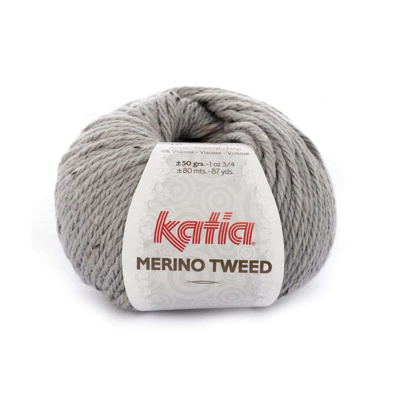 Merino Tweed 307 lys grå