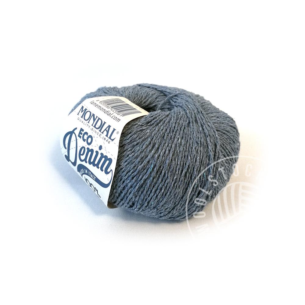 Eco Denim 756 light blue tweed