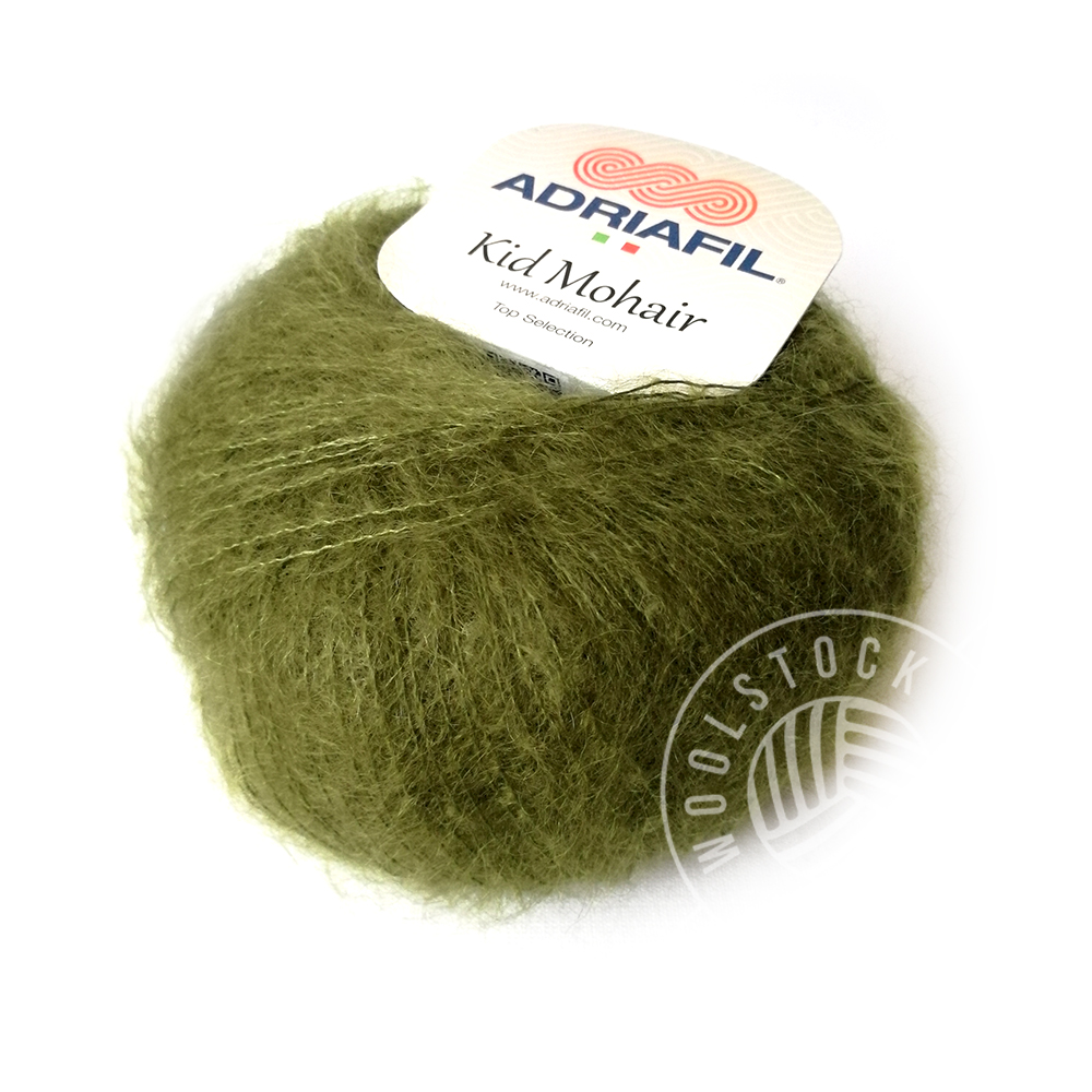 Kid Mohair 54 oliven
