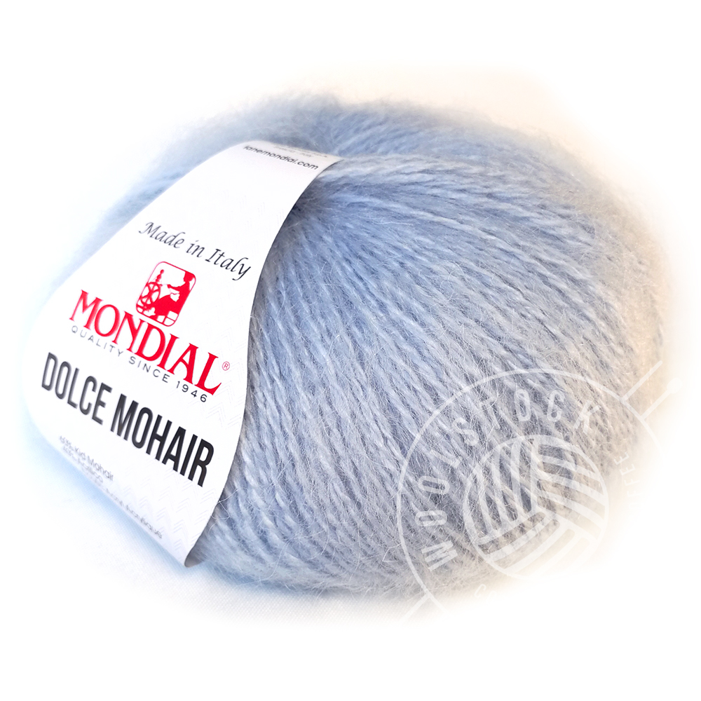 Dolce Mohair 80 baby blue