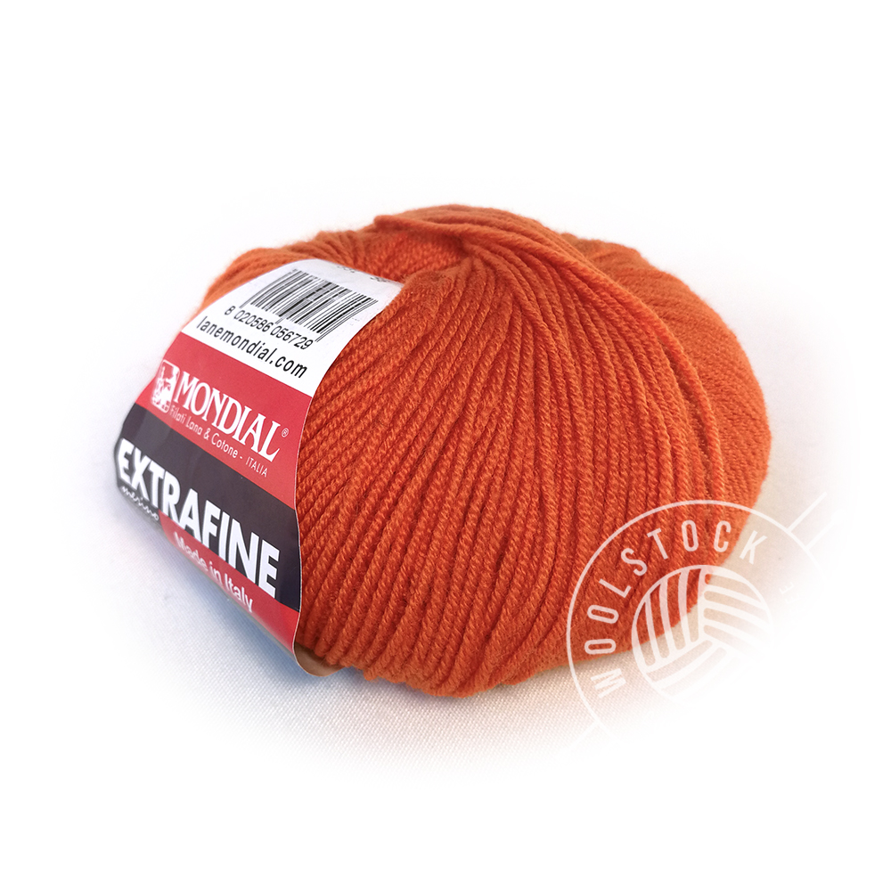 Extrafine Merino 331 orange