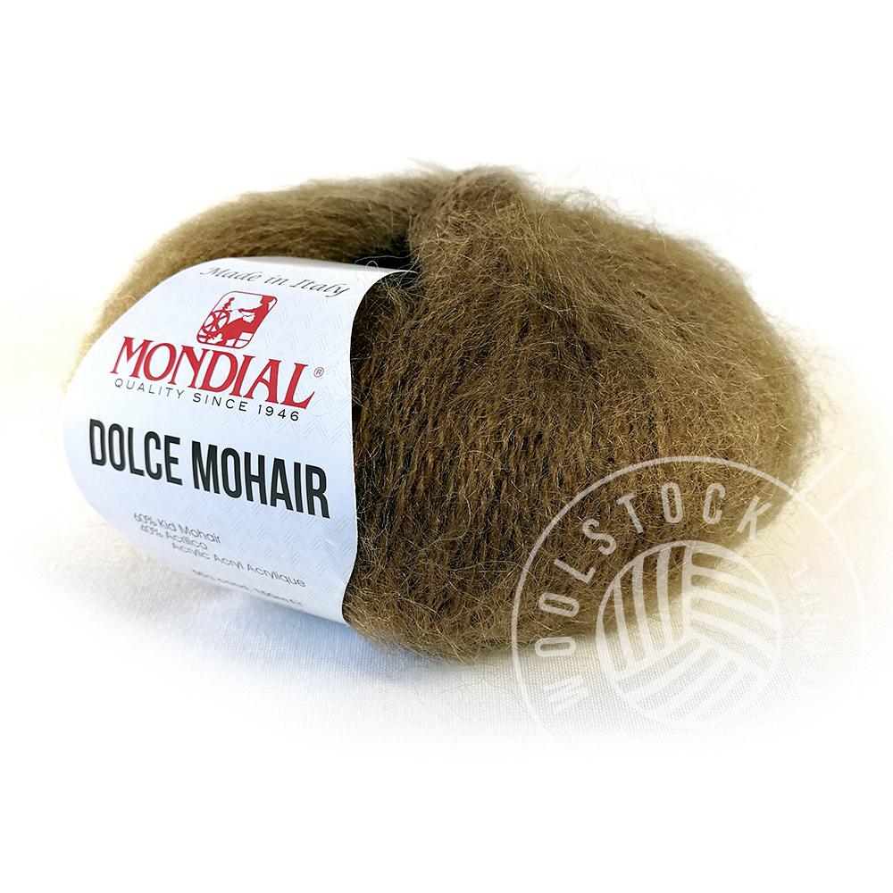 Dolce Mohair 339 walnut