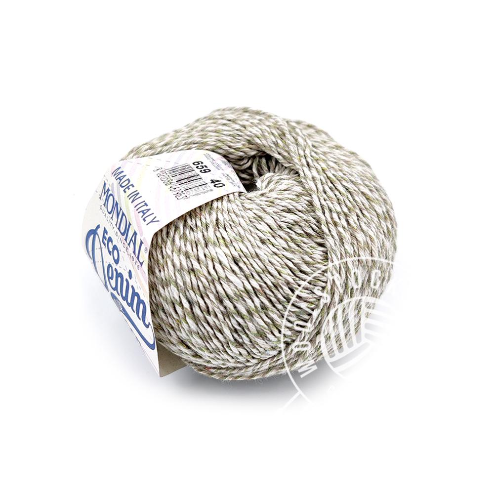 Eco denim 659 grå tweed