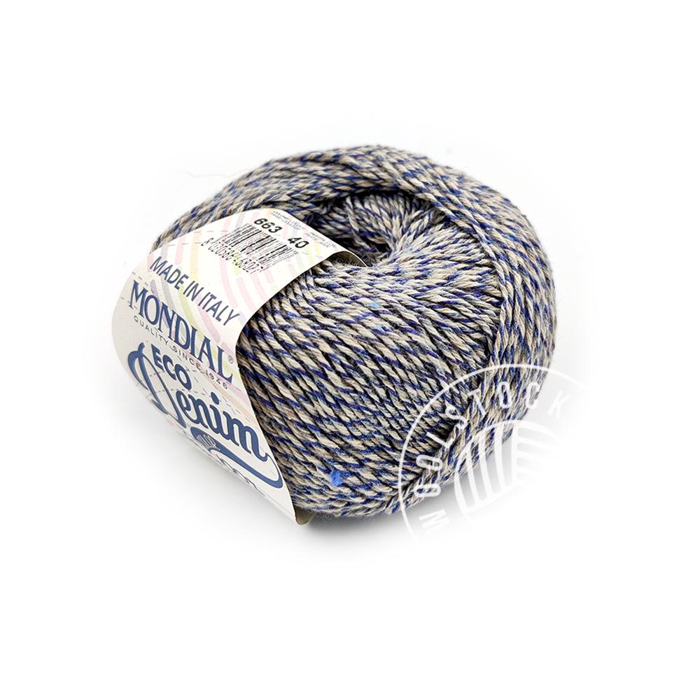 Eco denim 663 navy tweed