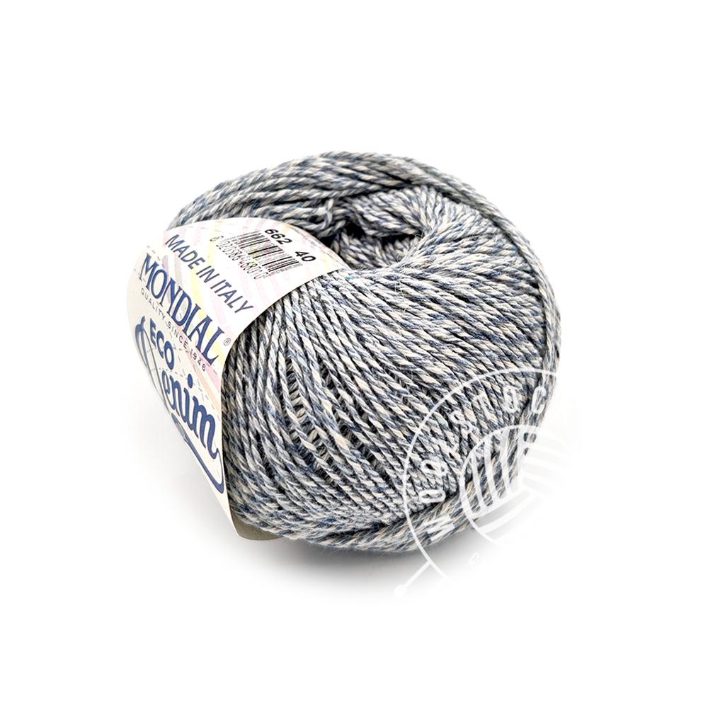 Eco denim 662 blå tweed