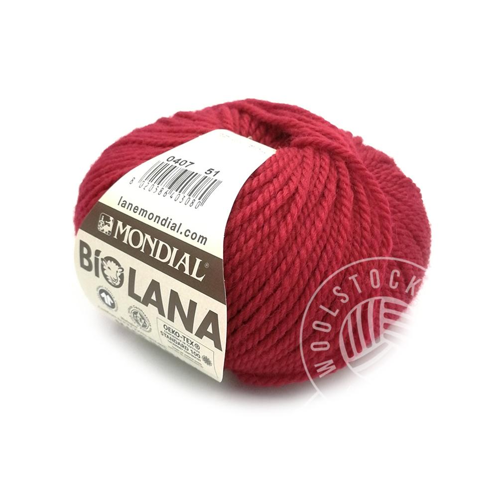 BioLana 407 mørk rød