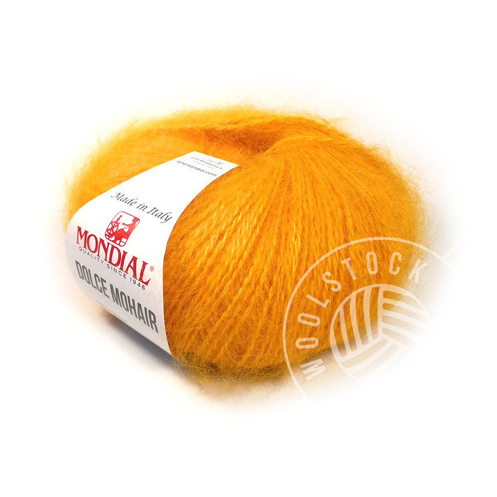 Dolce Mohair 333 electric orange
