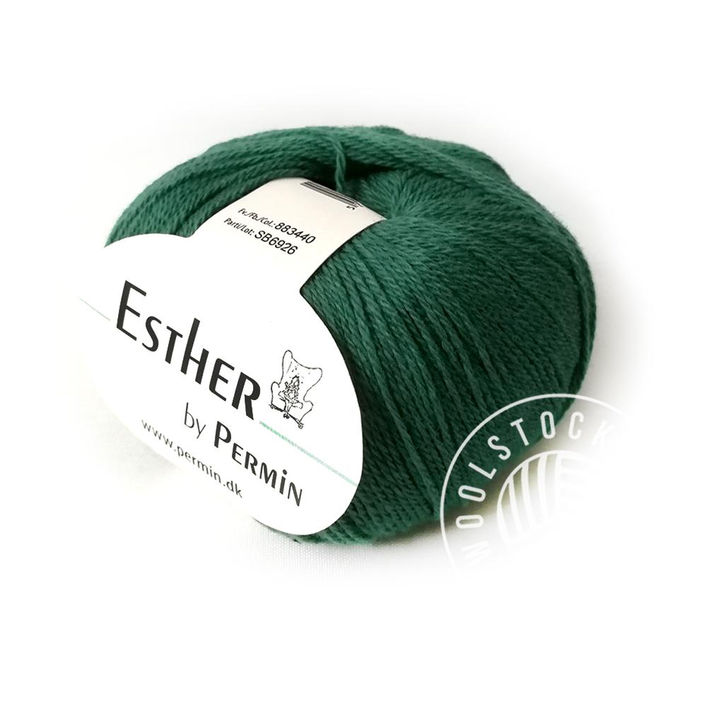 Esther 40 flaskegrøn