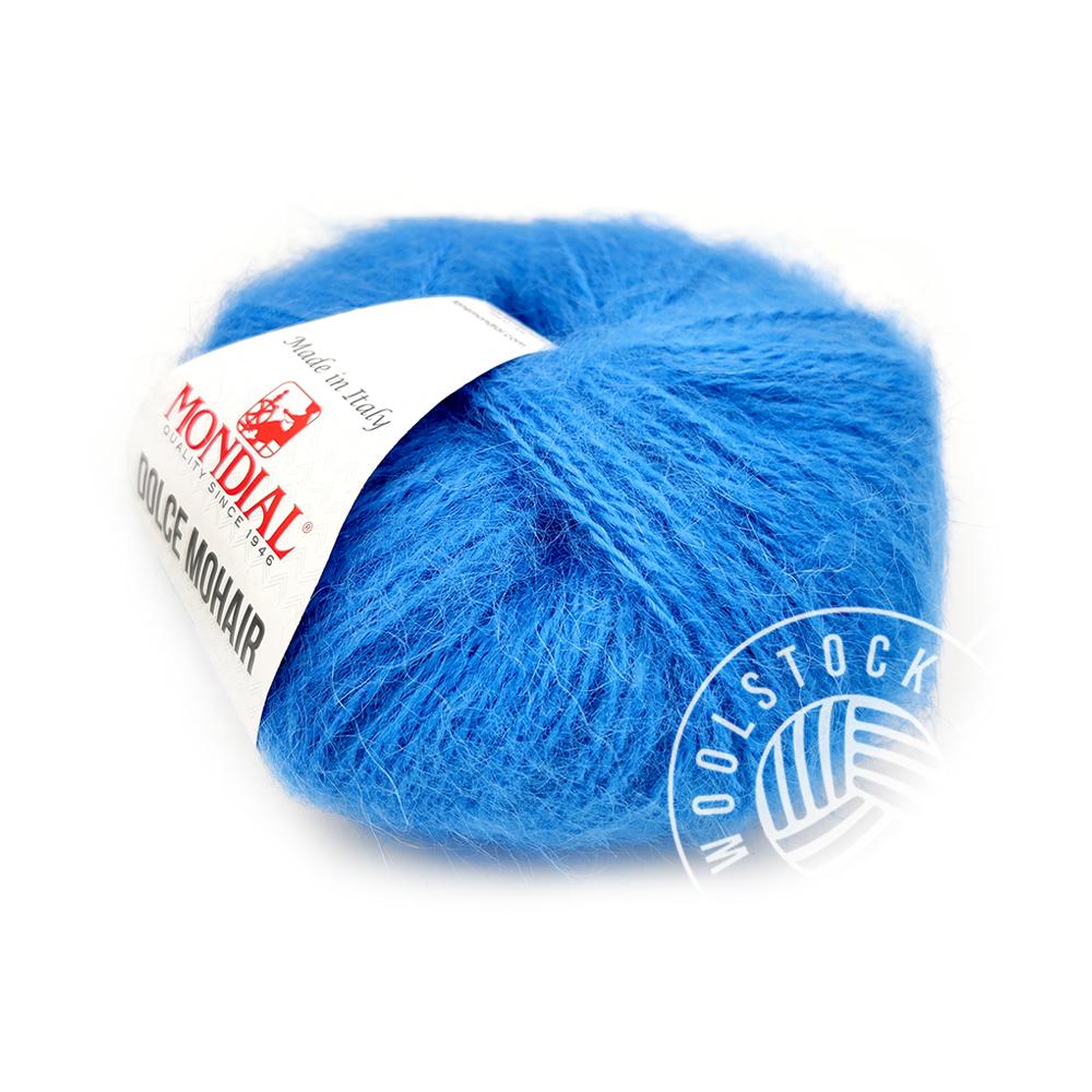 Dolce Mohair 187 Ikea-blue