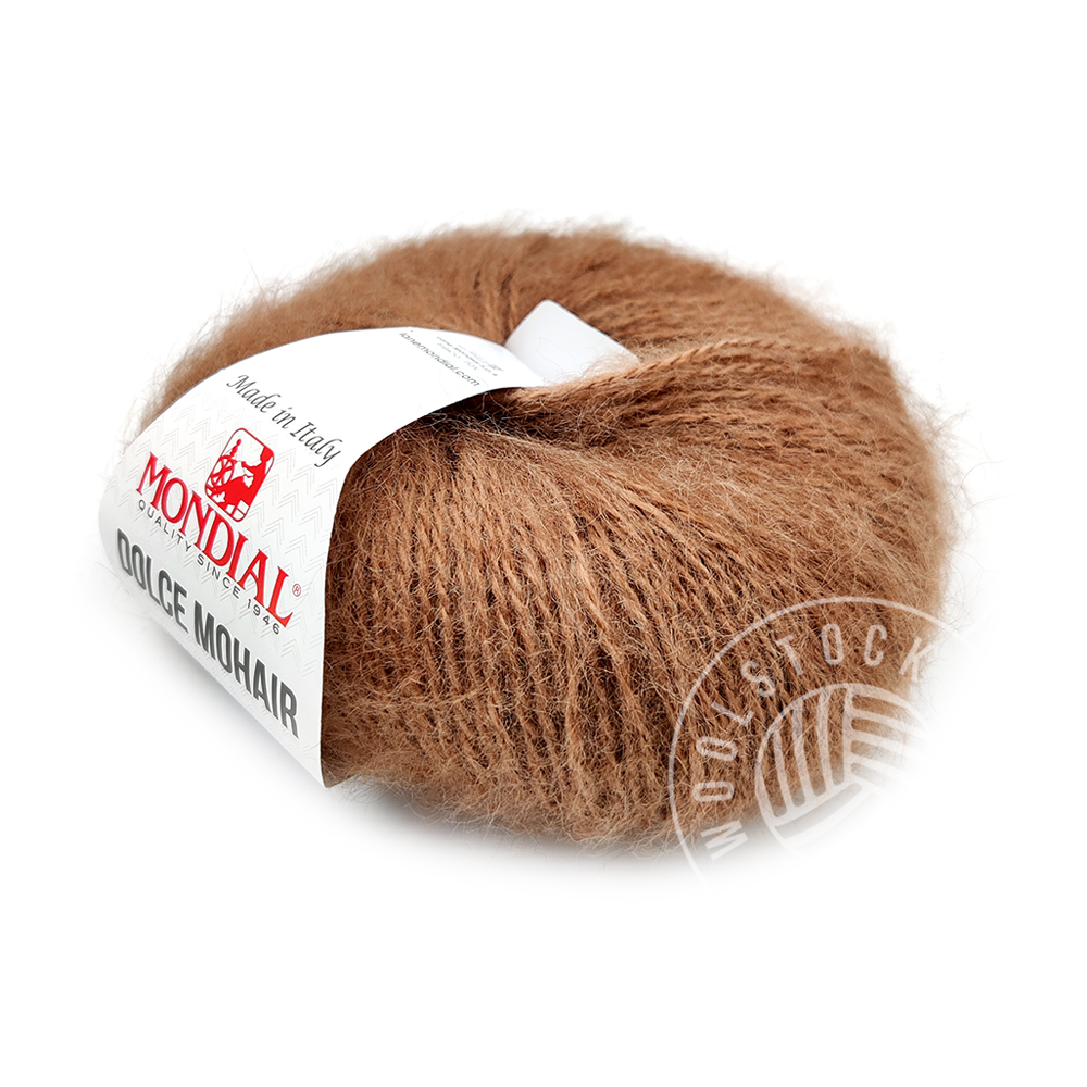 Dolce Mohair 180 light brown