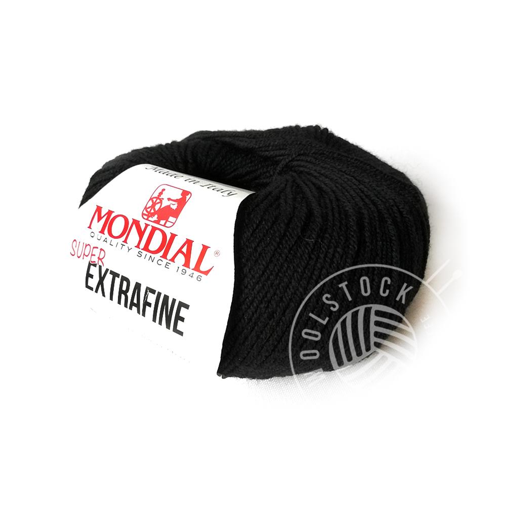 Extrafine Merino 200 black