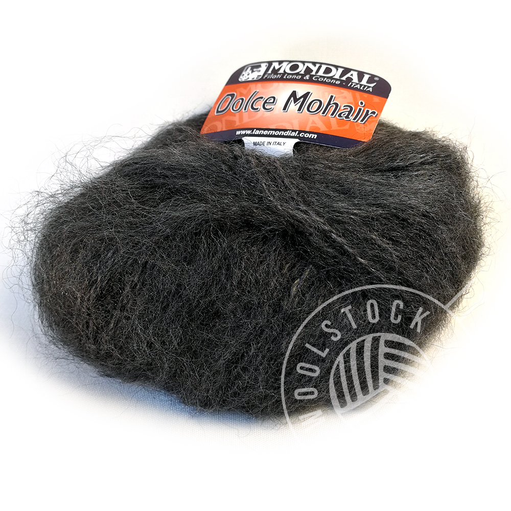Dolce Mohair 704 charcoal