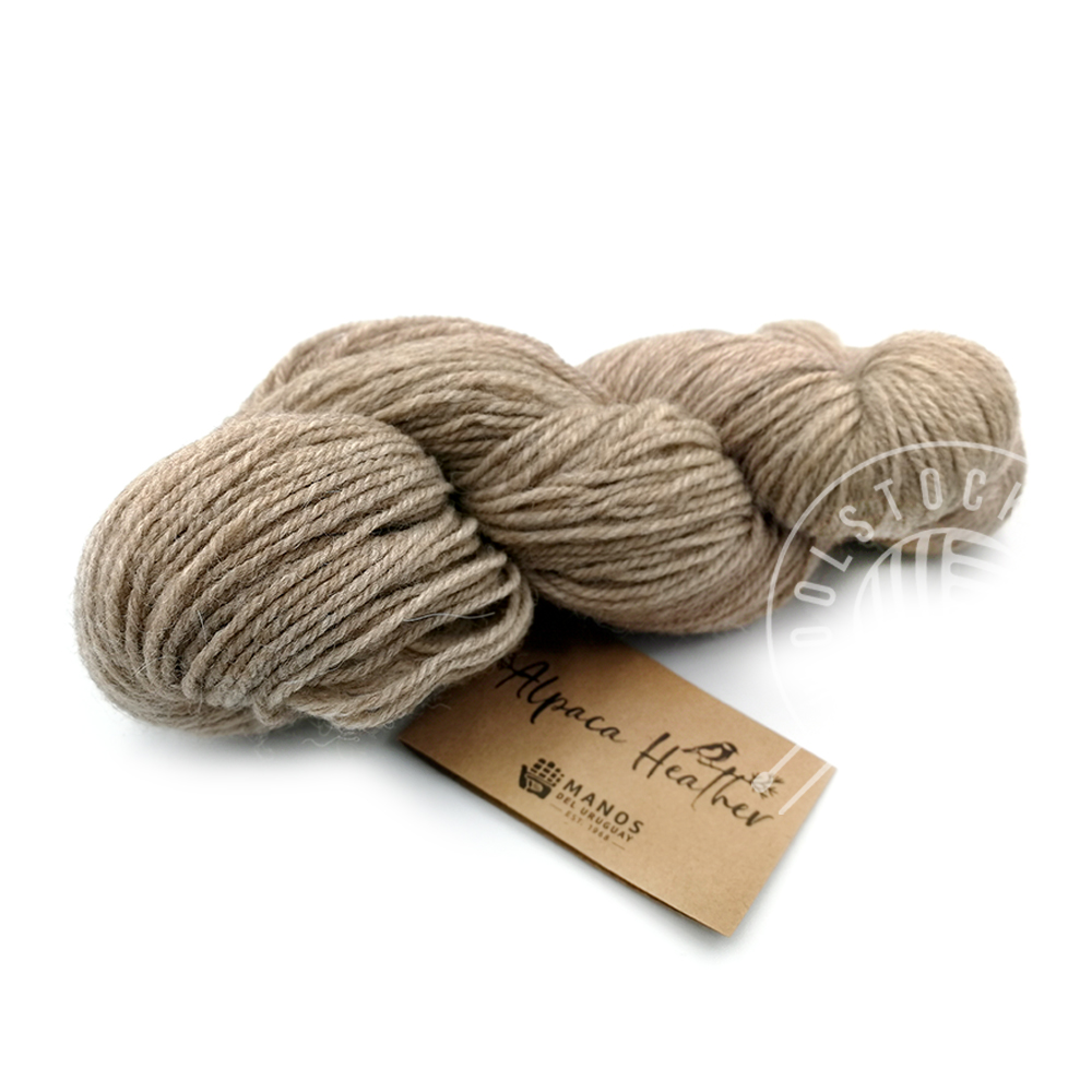 Alpaca Heather Undyed 705 sobel