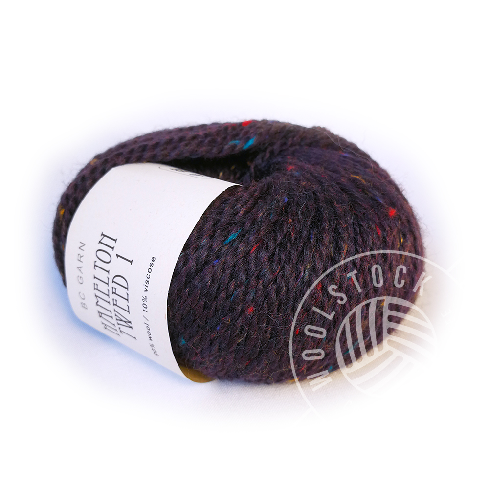 Hamelton Tweed 07 purple